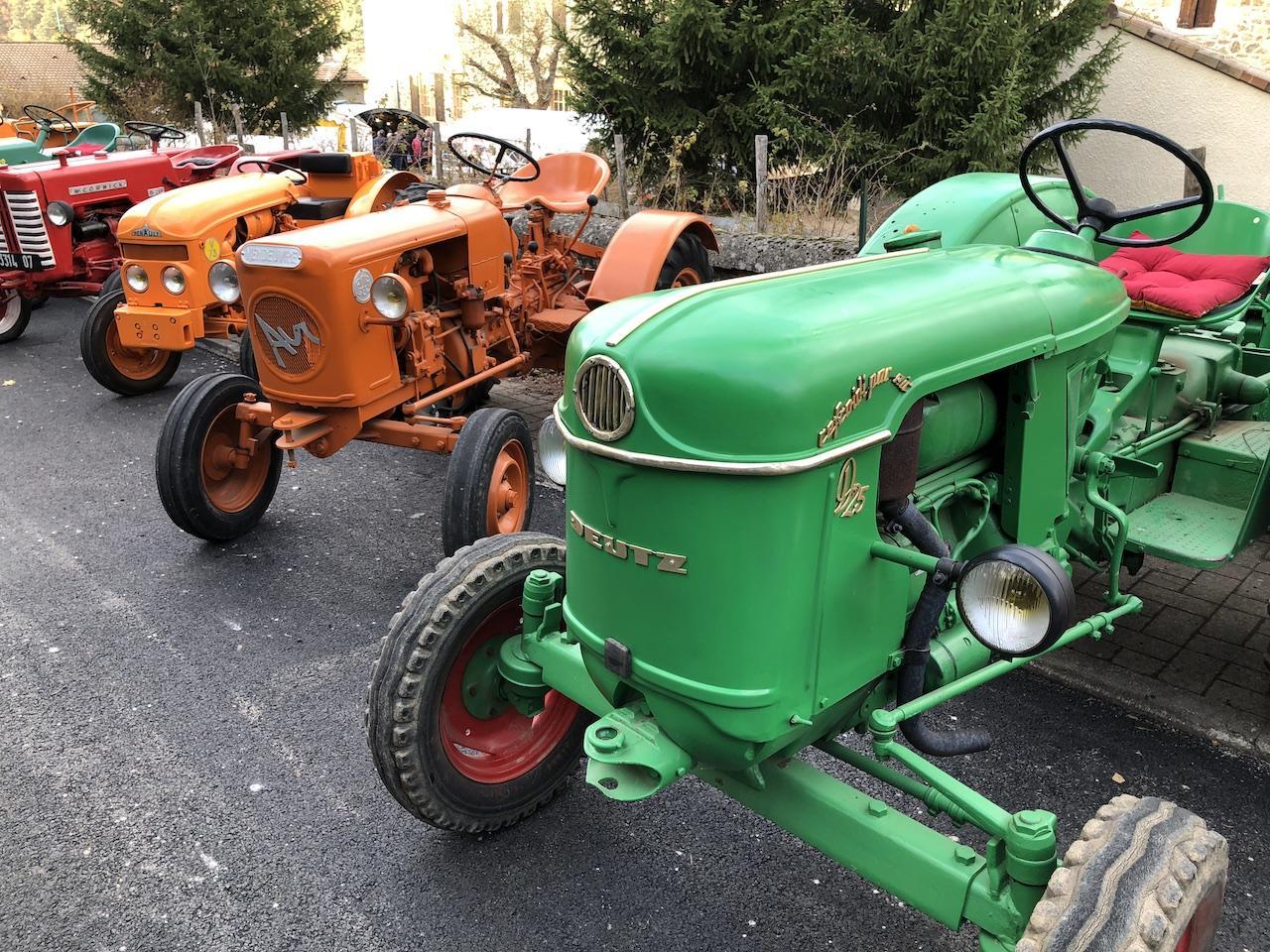 La mise en place des tracteurs