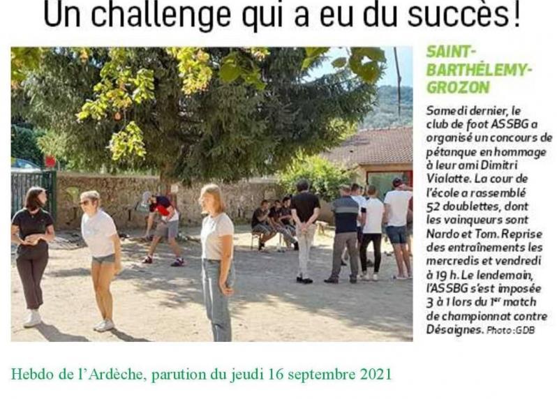 Article ha assbg challenge pe tanque 16 sep 21
