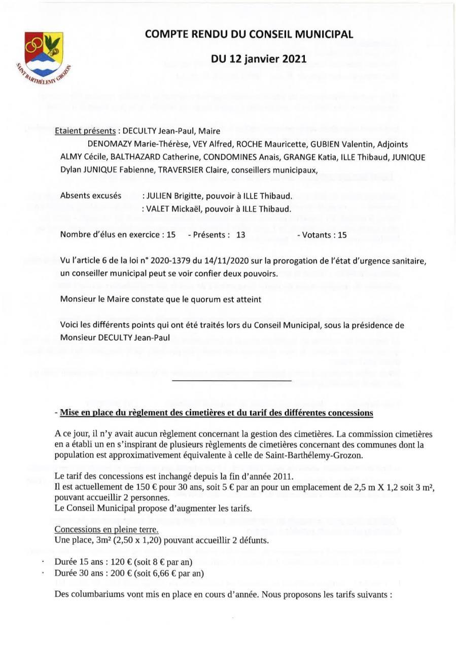 Cr conseil municipal 12 jan 21 p1