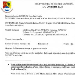 Cr conseil municipal 20 jul 21 carre e
