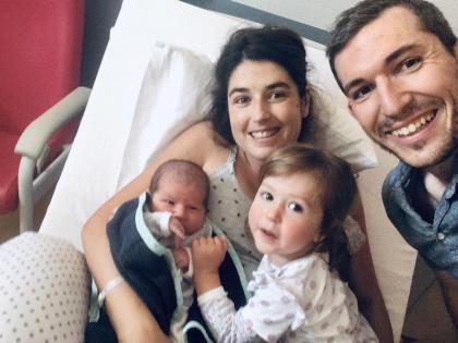Emile valdenaire et ses parents