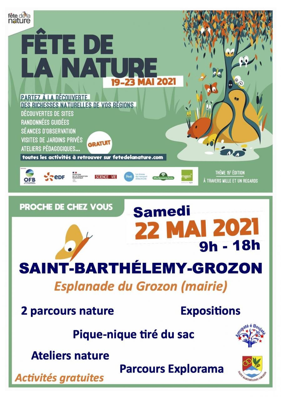 Fe te de la nature sbg affiche officielle