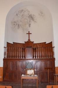 Le temple de grozon abside endommage e compresse e